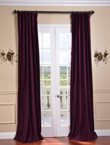 Velvet Pleated Panels