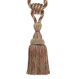 Single Braided Tassel Tieback #3390-10