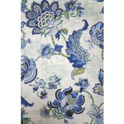 Adelaide Blue Bell Fabric