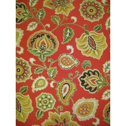 Atherton Umbria Red Fabric