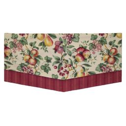 Board Mounted Double Scarf Valance