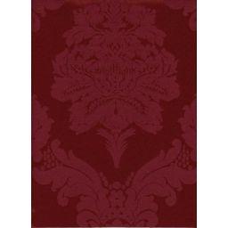 Damasco Burgundy Fabric