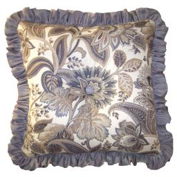 Decorative Ruffled Pillow