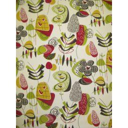 Doo Wop Mardi Gras Fabric