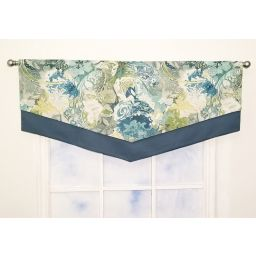 Double Scarf Valance