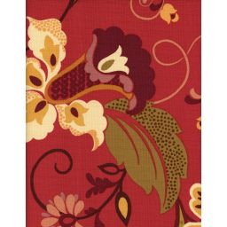 Filomena Garnet Fabric