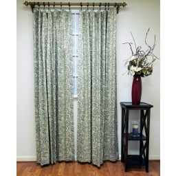 Any length Flat Curtain Panel