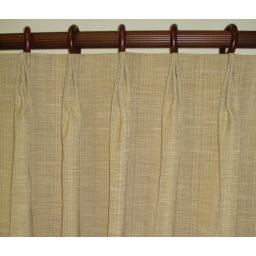 French pleated drapes