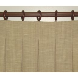 Inverted Pleat drapes made to order