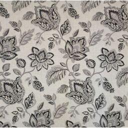 Karma Charcoal Fabric