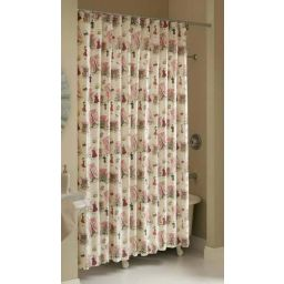 custom long length shower curtain