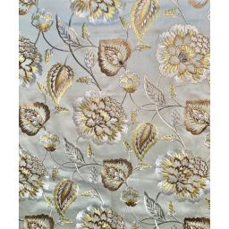 Lydia Coin Embroidered Fabric