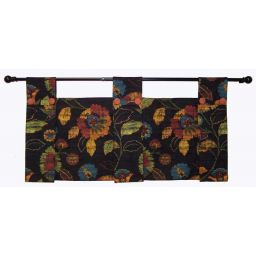 Modern Tabbed Style Valance