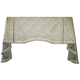 Board Mounted Shawl Valance