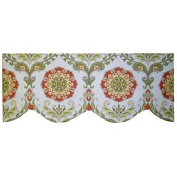 Board Mounted Single Layer Cameo Valance