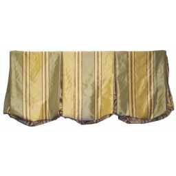 Board Mounted Pleated Balloon Valance